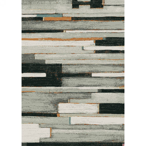 Picture of Compose Charcoal 8x10 Rug
