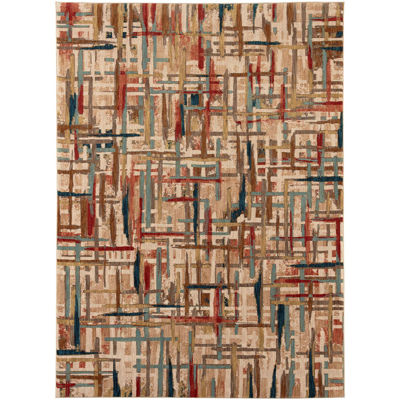 Picture of Painted Tapestry Multi 8x11 Rug