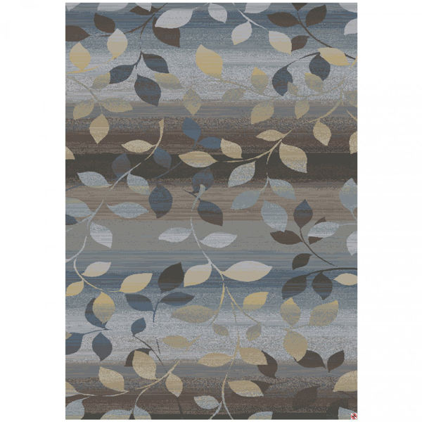 Picture of Palladium Flowing Leaves 5x8 Rug