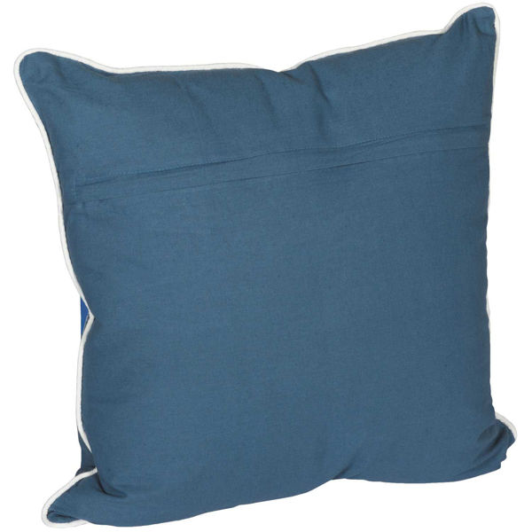 Picture of 18x18 Indigo Compass Pillow *P