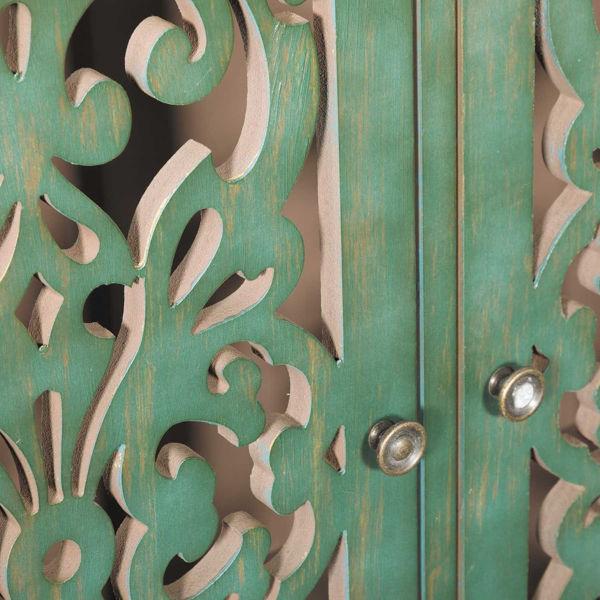 Picture of Northfield 3 Door Distressed Cabinet