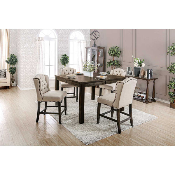 Picture of Ivie 7 Piece Counter Height Dining Set