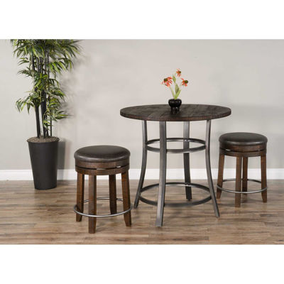 Picture of Metroflex 3 Piece Set with backless stools