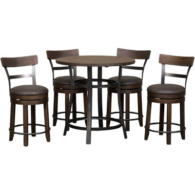 Picture of Metroflex 5 Piece Set with stools with back