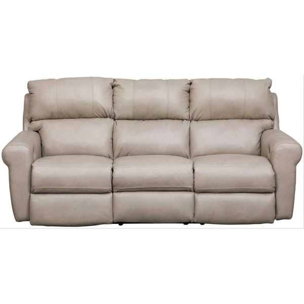 Picture of Torretta Italian Leather Reclining Sofa