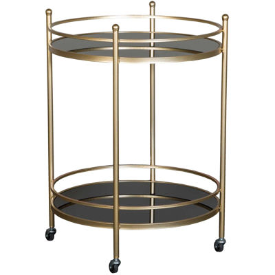 Picture of Gold Round Barcart