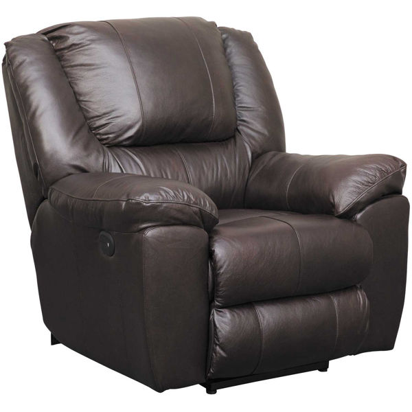 Picture of Italian Leather Power Wall Saver Recliner