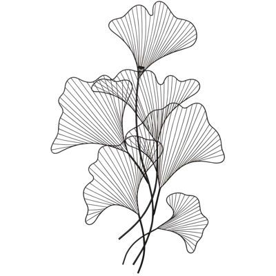 Picture of Delicate Leaves Metal Wall Decor