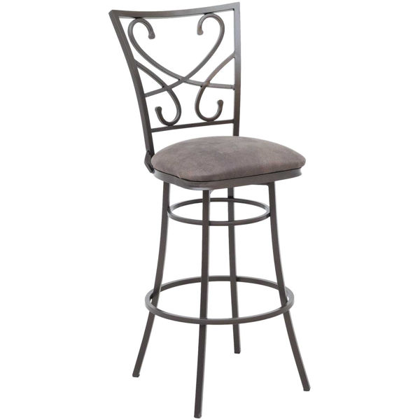 """Picture of Capetown 30"""" Armless Swivel Barstool"""