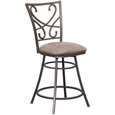 """Picture of Capetown 24"""" Armless Swivel Barstool"""