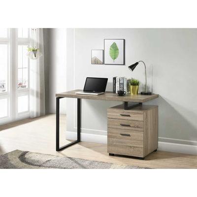 "Picture of Brenda 48"" Grey Computer Desk"
