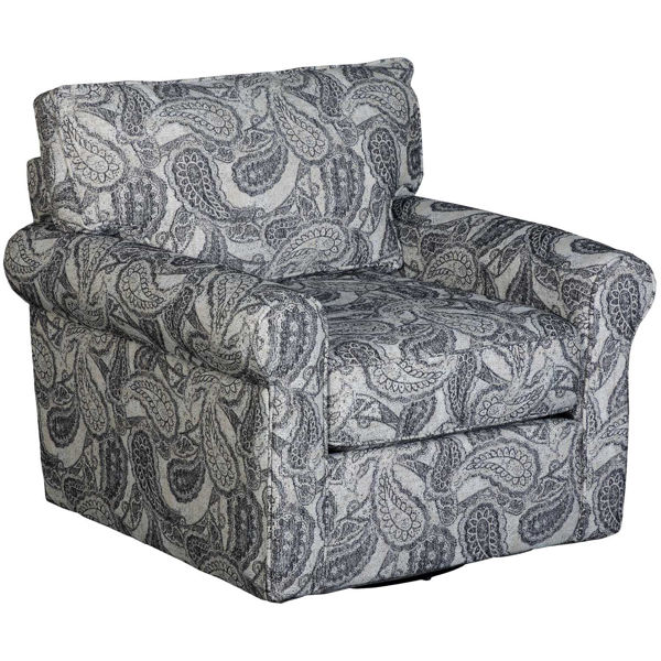 Picture of Cooper Paisley Swivel Chair