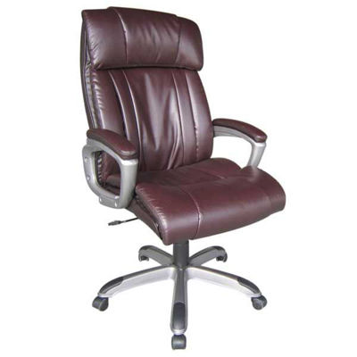Picture of Brown Leather Executive Chair