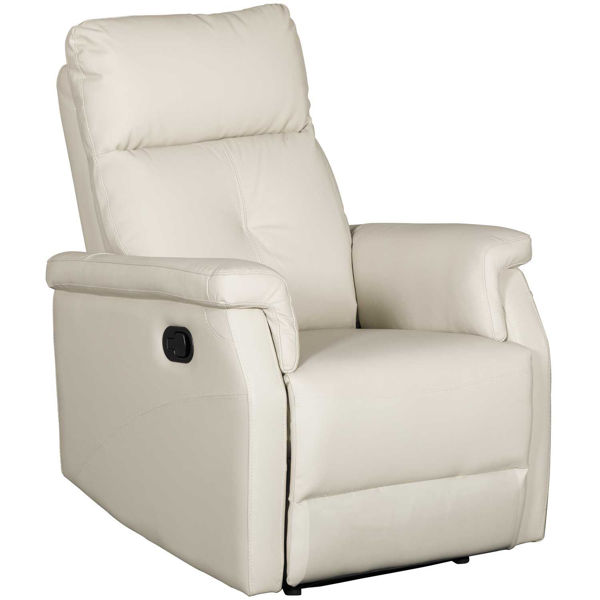 Picture of Calix Stone Leather Recliner