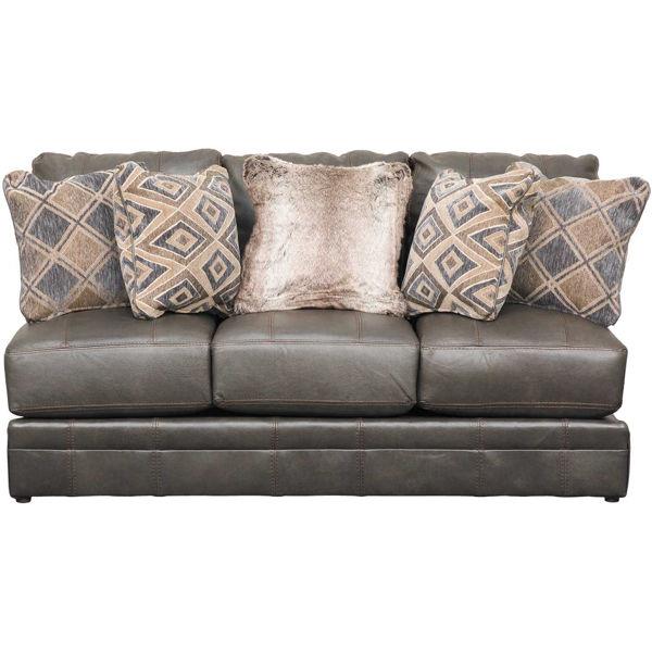 Picture of Denali Italian Leather Armless Sofa