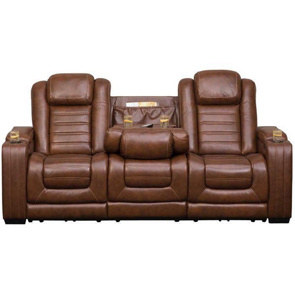 Picture of Backtrack P2 Reclining Sofa with Drop Down Table