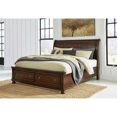 Picture of Porter King Storage Sleigh Bed