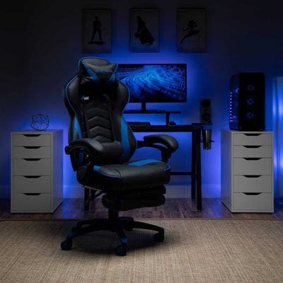 Picture of Respawn Blue Reclining Gaming Chair