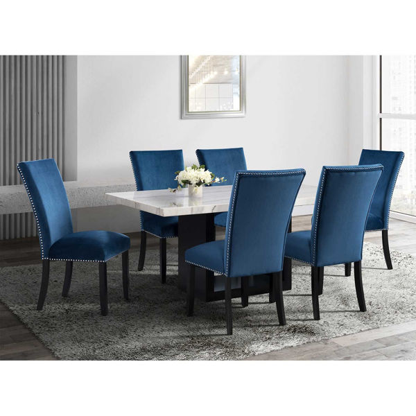 Picture of Francesca Marble Dining Table