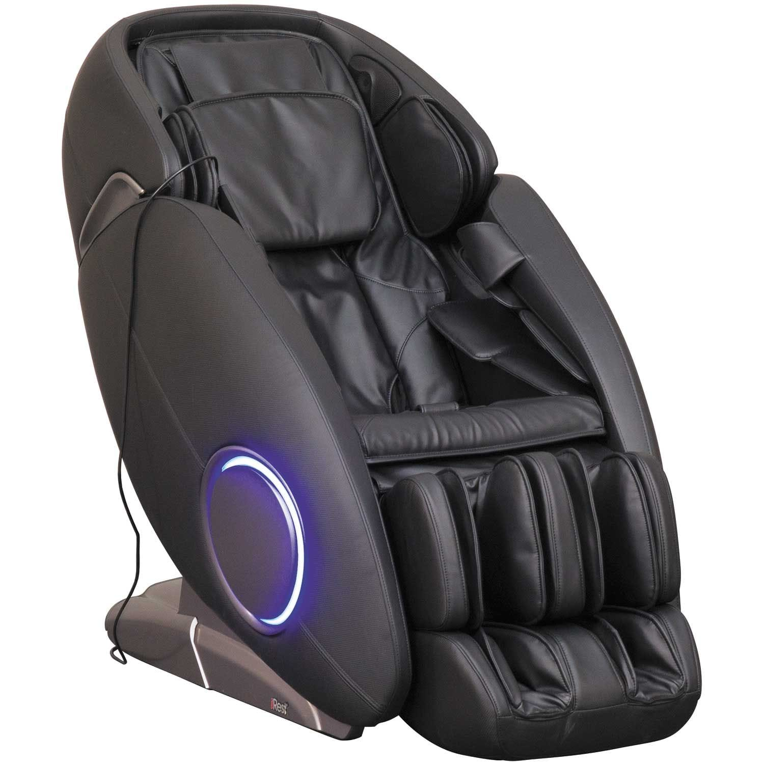 Black Massage Chair with Bluetooth Technology
