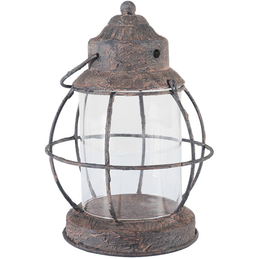 Rustic Metal Lantern