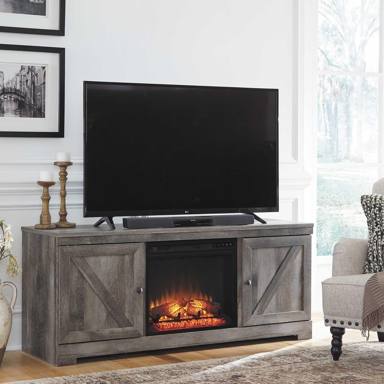 Wynnlow Fireplace TV Stand