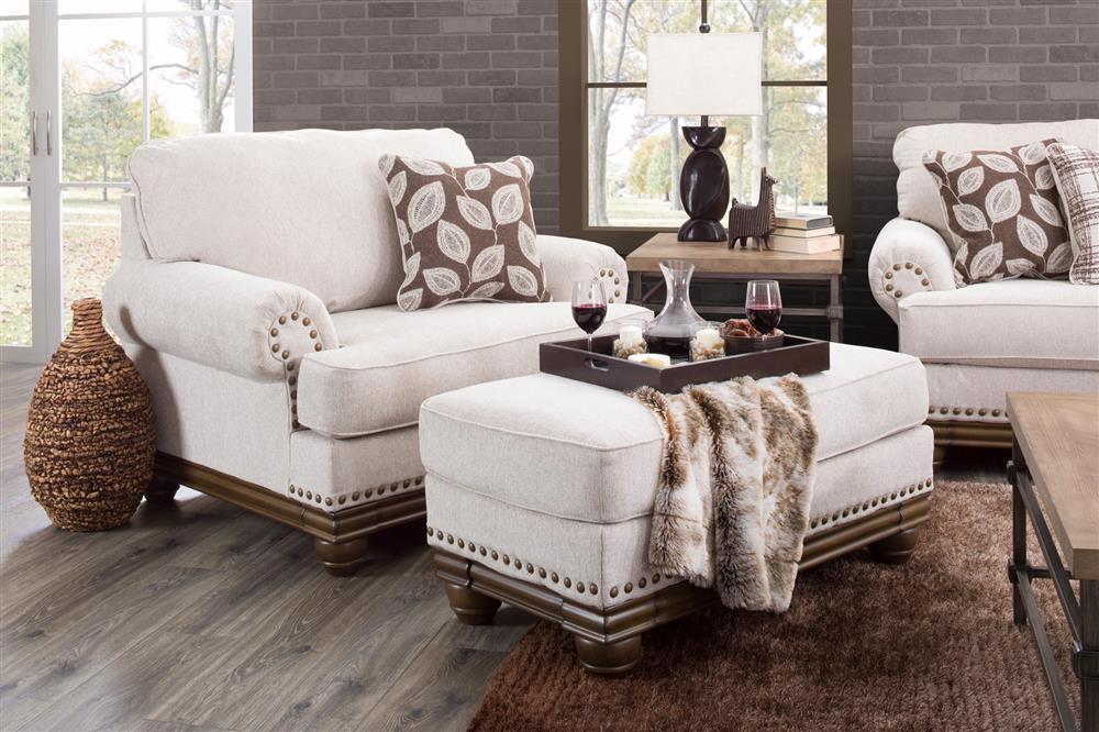 White & Brown Chair