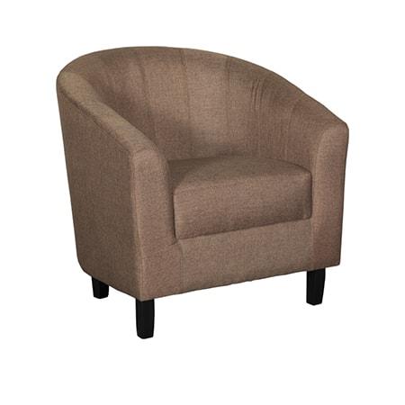 Duncan Chocolate Tub Chair