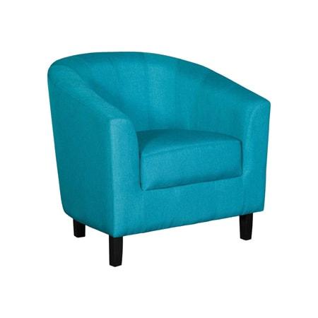 Duncan Teal Tub Chair