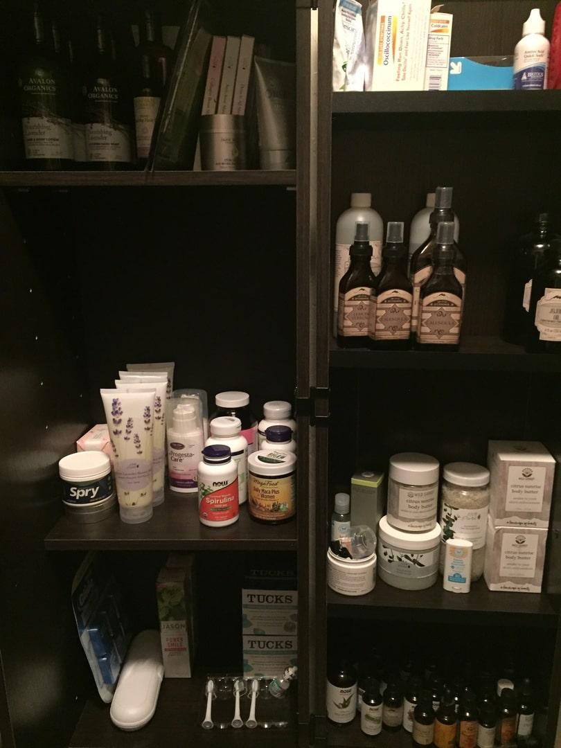 HomePlus Storage Dakota Oak Cabinet