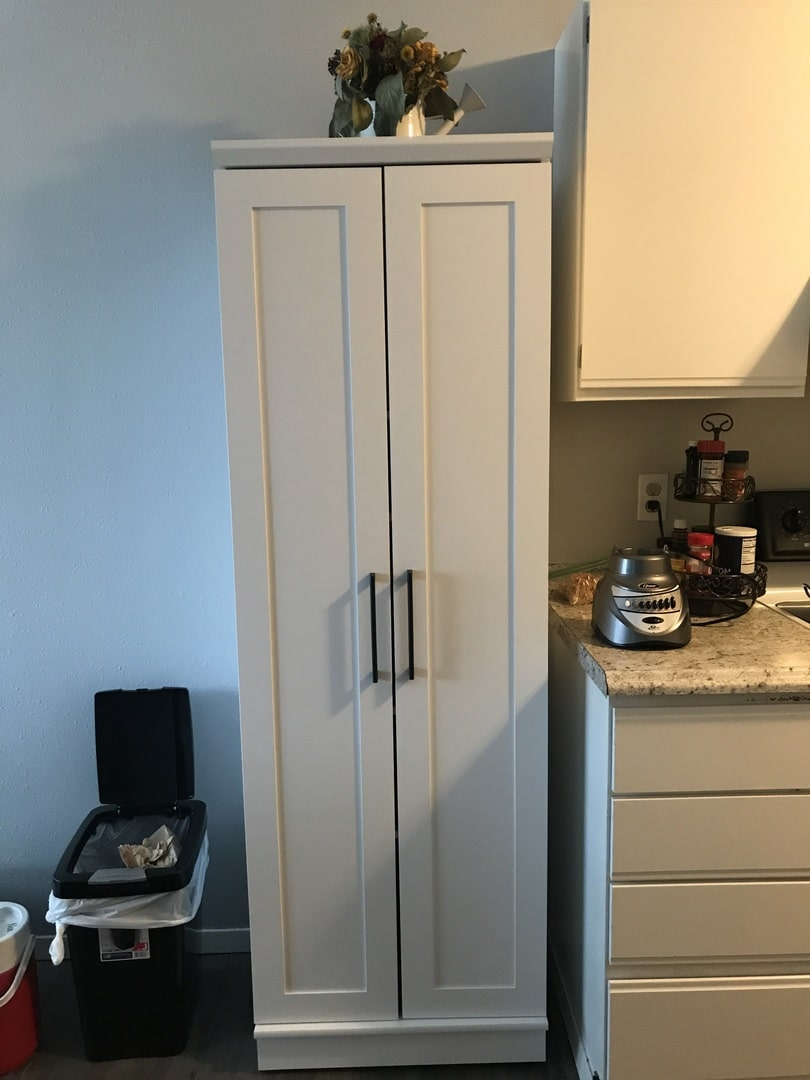 HomePlus Storage White Cabinet